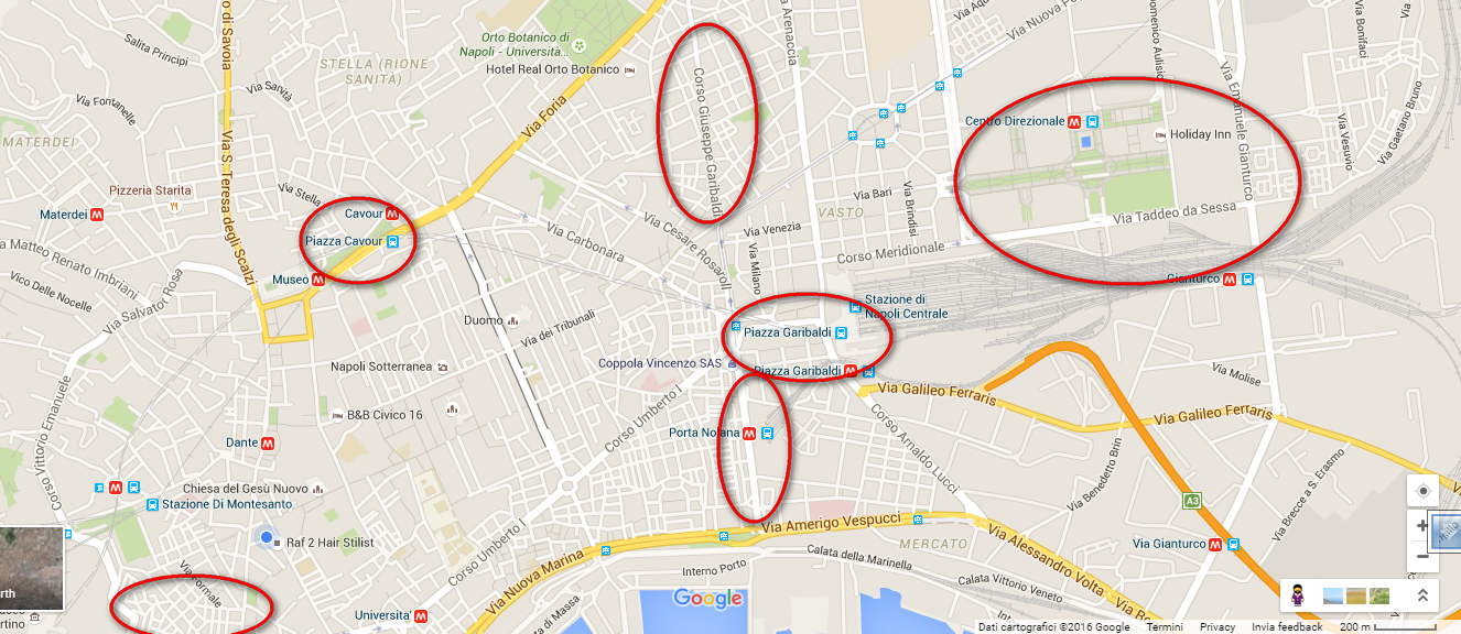 Napoli Quartieri Da Evitare Bbalcentrostorico